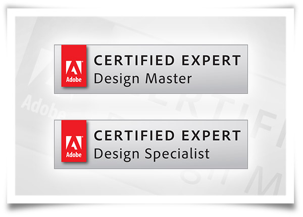 Adobe Certified - Design Master and Design Specialist